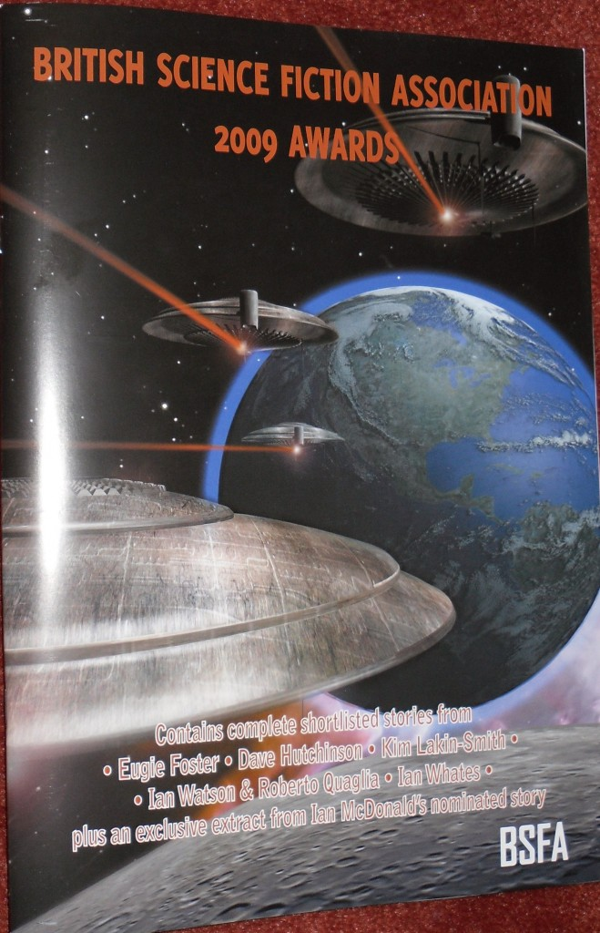 BSFA Awards booklet